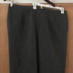 New Woman's Pants 100% Wool size 22W